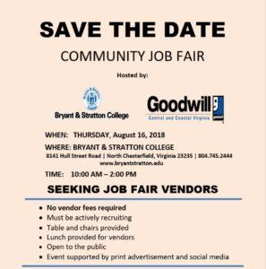 Community Job Fair @ Bryant & Stratton College | Richmond | Virginia | United States